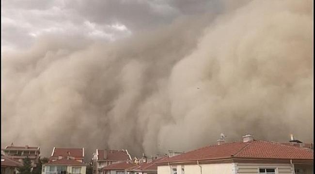 Ankara'daki toz fırtınasında 6 vatandaş hafif yaralandı