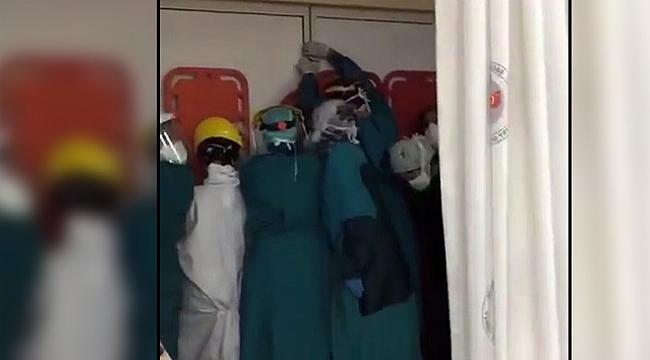 Sağlık çalışanlarına saldırıya soruşturma