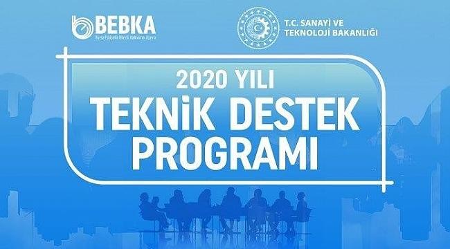 BEBKA 2020 destekleri açıklandı