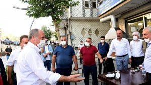 İnce'den Şırnak'ta esnafı ziyareti
