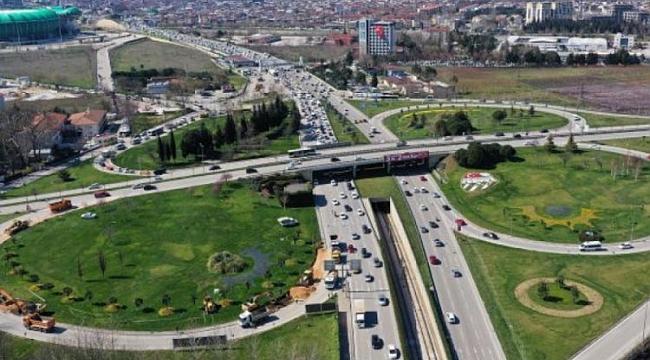 Bursa Acemler'de 24 Kasım'da yol trafiğe kapatılacak