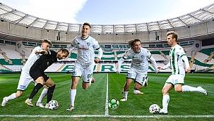 Bursasporlu gençlerin hedefi Avrupa