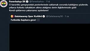 Fenerbahçe ve Galatasaray'dan dikkat çeken paylaşımlar!
