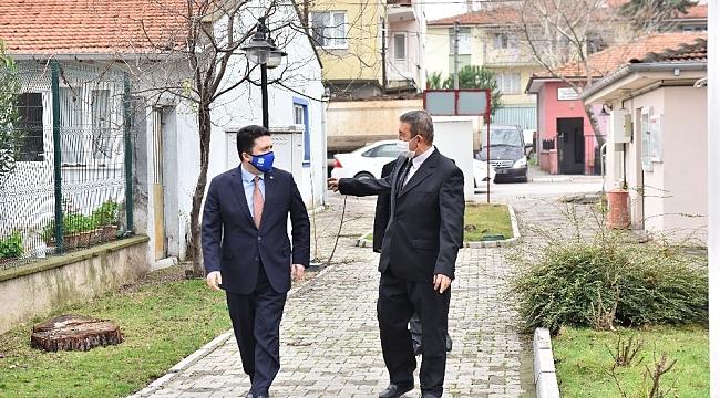 Başkan Avcıdan muhtarlara ziyaret