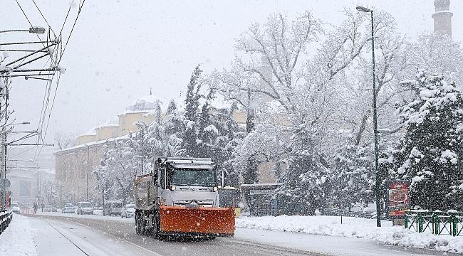 Bursa'ya kar geri geliyor; Hafta ortasından itibaren başlayacak