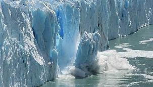 Dünya'da buzullar hızla eriyor!