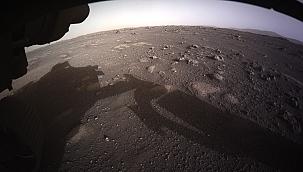 Marstan gelen ilk görüntüler heyecana yol açtı