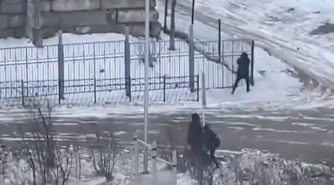 Rusya'da şiddetli fırtınaya