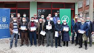 Bursa Büyükşehir'den çiftçi akademisi
