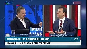 İmamoğlu Cumhurbaşkanı Erdoğan ile görüşmesinin ayrıntılarını anlattı