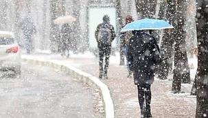 Meteoroloji uyardı: Kar ve yağmur geliyor!