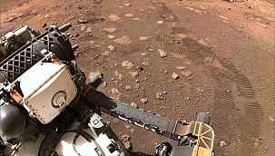 Perseverance'den Mars'ta ilk test sürüşü