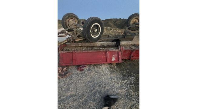 Haymana'da traktör kazasında çocuklar öldü
