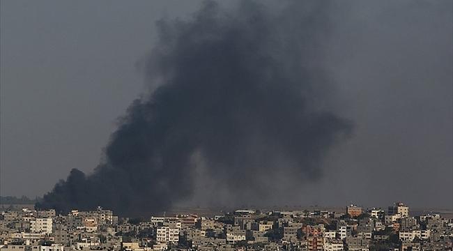İsrail, Filistin İçişleri Bakanlığı'nı vurdu