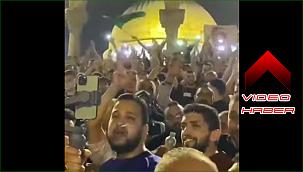 Mescid-i Aksa'da Türkiye ve Erdoğan sloganları