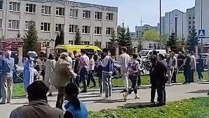 Tataristan'da okul saldırısında 11 kişi öldü