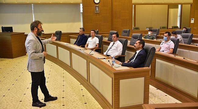 Büyükşehir'den personele insansız dünya eğitimi