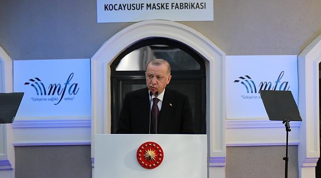 """Cumhurbaşkanı Erdoğan: """"Yerli, yabancı ayrımına gitmeden, Türk ekonomisine güvenen herkese biz de sahip çıkıyoruz"""""""