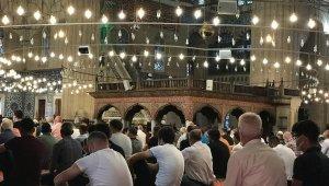 Selimiye Camii'nde bayram namazı coşkusu