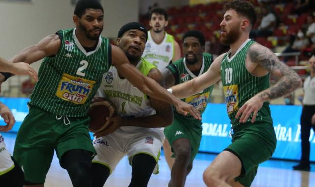 Frutti Extra Cup: Merkezefendi Belediyesi Basket: 64 - Frutti Extra Bursaspor: 79